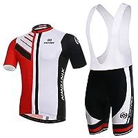 Skysper- Männer Stilvolle Comfortable Cycling Clothing Set Short Sleeve...