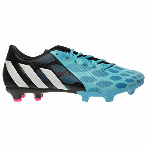 Adidas Predator Absolion Instinct Fg. Noir / Rouge / Blanc Bleu Solaire, Noyau Blanc, Noyau Noir