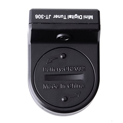 Great Value Guitar Accessories JOYO JT-306 Mini Digital LCD Clip-on Tuner for Guitar Bass by Mzanzi (Image #3)