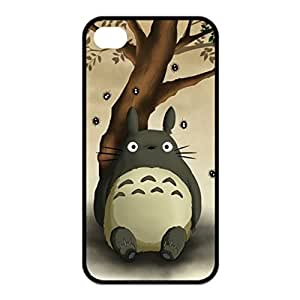SUUE My Neighbor Totoro Custom Hard Case for iPhone 4 4s Durable Case Cover