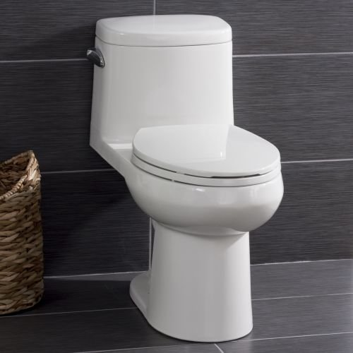 Miseno MNO120C One-Piece Toilet with Chair Height Elongat...