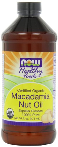 NOW  Foods Organic Macadamia Oil, 16-Ounce