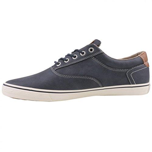 Mustang - Zapatos de cordones para hombre Azul azul