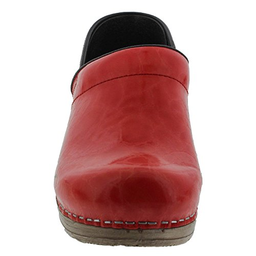 Sanita Frauen Original Patches Limited Edition Clogs Rosa Steinleder