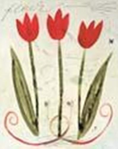 (Susan Gillette - Trois Tulipes Rouge NO LONGER IN PRINT - LAST ONE!!)