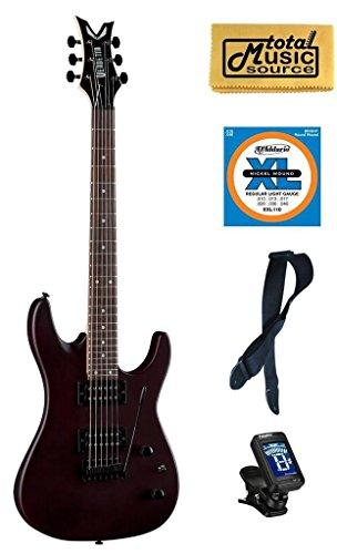 (Dean Vendetta XM Tremelo Natural Electric Guitar FREE Strings Tuner Strap Cloth)