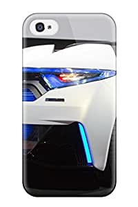 Iphone 4/4s Case Cover - Slim Fit Tpu Protector Shock Absorbent Case (honda Sports Car Gallery )