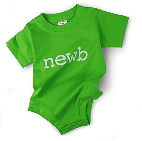 Wry Baby 'newb' Snapsuit (0-6 months)