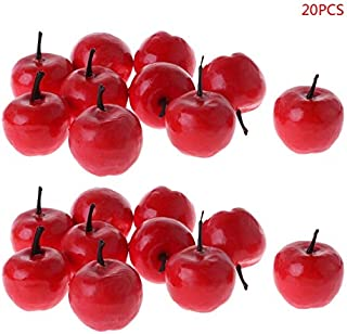 12 Different Fruits in One Set Fruit Modle for Photoshoot Total 16 Pcs Simulation Fruit Set 12 Kinds of Artificial Fruits Pack Party Chirstmas Decortion Fake Fruits for Home Decor