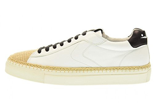 VOILE BLANCHE scarpe uomo sneakers 0012011141.01.9108 AMALFI Bianco-nero