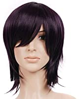 Dark Brown Short Length Anime Cosplay Costume Wig