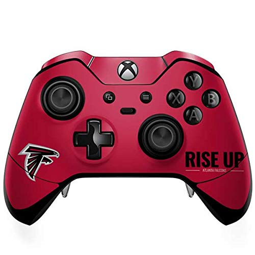 Skinit Atlanta Falcons Team Motto Xbox One Elite Controller Skin - Officially Licensed NFL Gaming Decal - Ultra Thin, Lightweight Vinyl Decal Protection