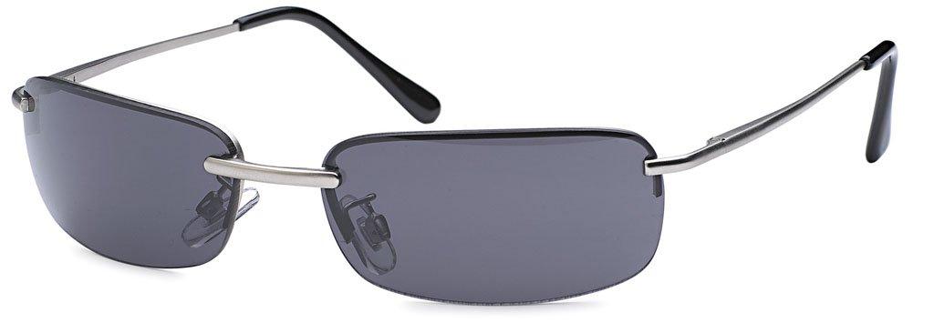 Emeco Matrix Style Neo Sonnenbrille Optiker Qualität 1980 , Silber Verspiegelt