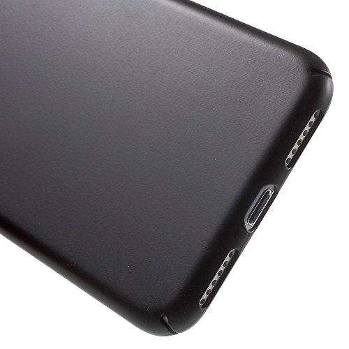 X-FITTED Classic PC Hard Tasche Hüllen Schutzhülle Case für iPhone 7 4.7 inch - schwarz