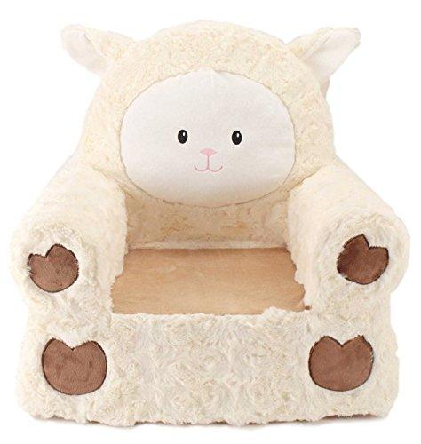 (Sweet Seats Kids Plush Lamb Chair in)