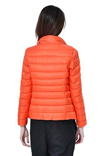 Ligero Las Calentar 11 De Collar Naranja Soporte Disponibles Capa Packable Del Santimon Abajo Invierno Mujeres Colores Chaqueta Delgado wg4t8q