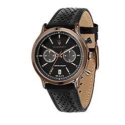 Montre pour Homme, Collection Legend, chronographe, en Acier, IP cuivre et Cuir - R8871638001 8