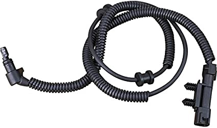 AIP Electronics ABS Anti-Lock Brake Wheel Speed Sensor Compatible Replacement For 2002-2005 Jeep Liberty Rear Center Left Driver Right Passenger Oem Fit ABS134