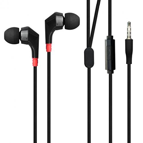 Premium Hi-Fi Sound Earbuds Hands-free Earphones Mic Dual He