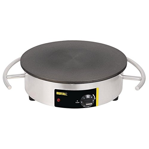 Buffalo Electric Crepe Maker 140X550X456mm Stainless Steel Bar Commercial