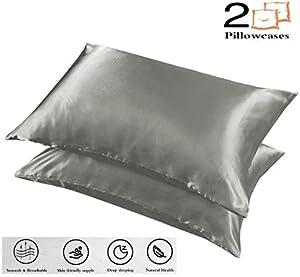 Sweepstakes: CoutureBridal 2 Pack Satin Silk Pillowcases...