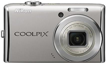 Nikon Coolpix S620 Digitalkamera 2 7 Zoll Silber Kamera