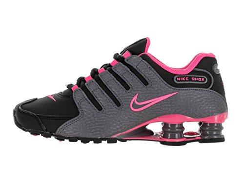 Nike Shox Nz Hardloopschoen Zwart / Donkergrijs / Roze Explosie