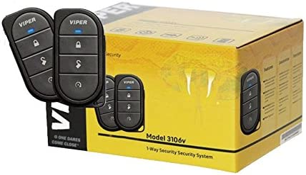 Viper 3106V 1-Way Car Alarm System
