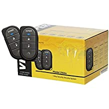 VIPER 3106V 3-CHANNEL 1-WAY CAR ALARM VEHICLE SECURITY KEYLESS ENTRY SYSTEM 2 REMOTES SHOCK SENSOR & SIREN