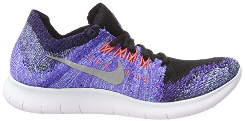 Nike Aurora RN Free Mujer 2017 Violet para Silver Trail Zapatillas Persian Running Metallic Flyknit Black Wmns de Negro rwqTpxgrE