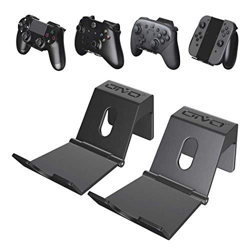 OIVO Controller Wall Mount Holder for PS5/PS4/PS4/Xbox Series/One/S/X/Elite Controller, Nintendo Pro Controller, Wall…
