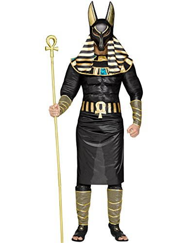Anubis the Egyptian God Adult Costume - Egyptian Gods Costume