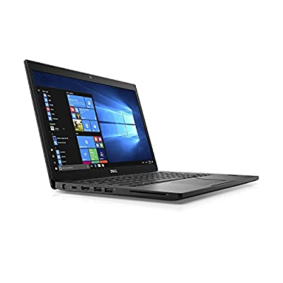 "Dell Latitude 7480 14"" Notebook, Full-HD Display, Intel Core i5-7300U 2.6GHz Dual-Core, 8GB DDR4, 256GB Solid State Drive, 802.11ac, Bluetooth Backlit Keyboard, Win10Pro (Certified Refurbished)"