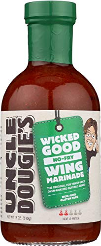 Uncle Dougie's, Chicken Wing Marinade, 18 oz (The Best Chicken Marinade Ever)