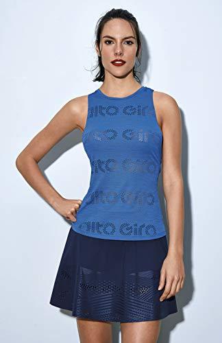 Regata Skin Fit Alto Giro Laser E Silk, Alto Giro, Feminino, Azul Sora, M