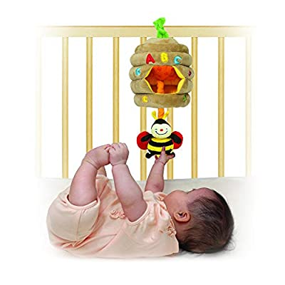 Melissa & Doug K's Kids Musical Pull Beehive - Crinkling, Soft-to-Touch Crib Toy: Melissa & Doug: Toys & Games