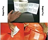 """RV Camper Awning Canvas Cloth Tent Hole Repair Patch - Tear Aid 6"""" x 12"""" Patch A"""