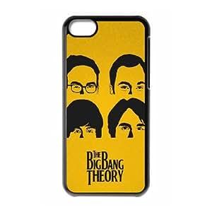 Big Bang Theory Beatles Estilo AY34CC8 funda iPhone Teléfono celular 5c caso funda F7MB6U7HE