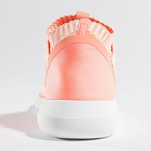 Pk Ginnastica W Defiant Tubular Donna Salmone E Scarpe Sneakers Bianche Da Adidas xAwFaqc