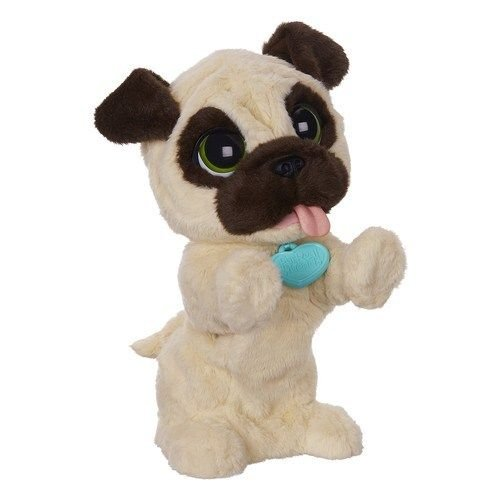 FurReal Friends JJ My Jumpin' Pug Pet Plush Standard Packaging .HN#GG_634T6344 G134548TY32410 by Anajosily