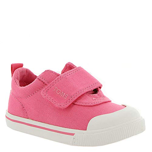 TOMS Kids Baby Girl's Doheny (Toddler/Little Kid) Bubblegum Pink Canvas 9 M US -