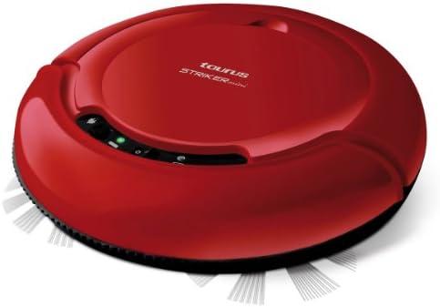 Taurus Mini Striker - Robot aspirador, 19V, diámetro 23.5 cm, autonomía 75 min, color rojo: Taurus: Amazon.es: Hogar