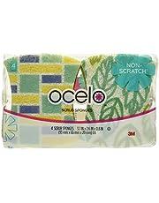 ocelo No Scratch Scrub Sponge (LD-4), 4-Count (Pack of 8)