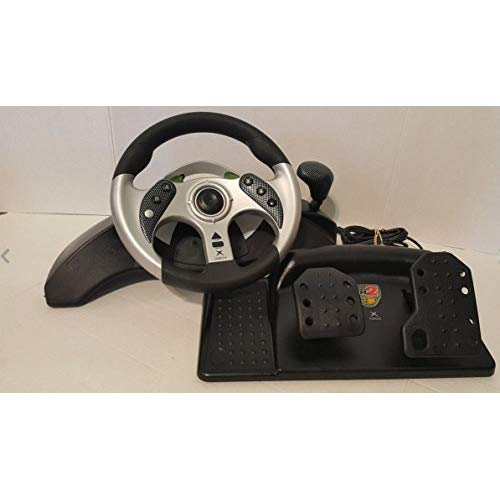 Mad Catz MC2 Racing Wheel and Pedals Set