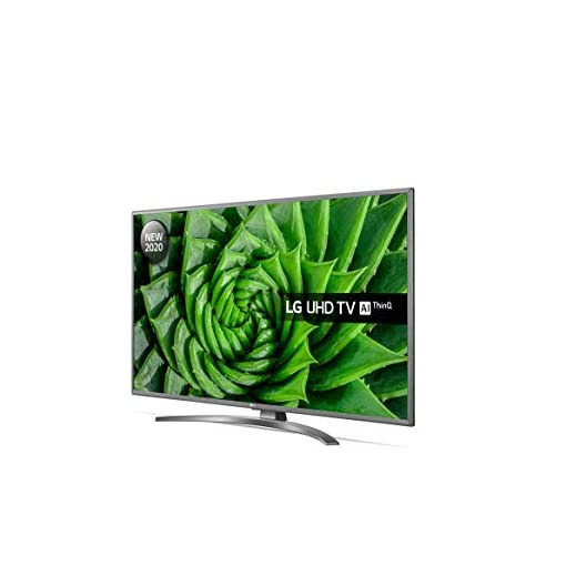 LG 50UN81006LB 50 Inch UHD 4K HDR Smart LED TV with Freeview HD/Freesat HD – Light Grey Pearl colour (2020 Model) with…