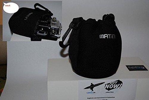 Reise Schutztasche für GoPro Hero Case Tasche Gürtelhalter Neoprentasche Gopro Bike Tasche Kamera Case Soft Klein ItyYfzmxN