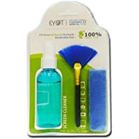 EYOT LCD Screen Cleaner Anti Bacterial Professional 3 in 1 Cleaning Kit with Microfibre Cloth for Laptops,Mobiles,LCD,LED,Computers,and TV