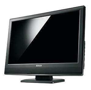 I-O DATA 地上デジタルチューナー内蔵 19型ワイド液晶ディスプレイ (WXGA+1440x900 光沢パネル) LCD-DTV191XBR