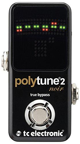 (TC Electronic Polytune Noir Mini 2 Pedal Tuner)