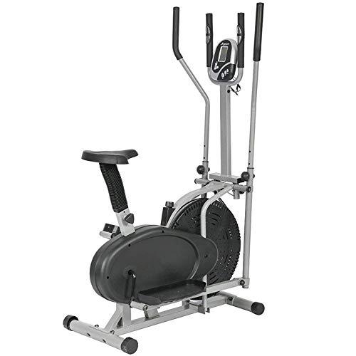 Belovedkai Elliptical Trainer Exercise Bike, Dual Cross Trainer Machine Home Gym Workout Fitness Indoor Cycling Bike (BF-8.2DA Black)